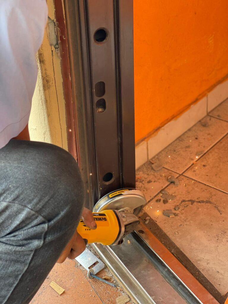 repair in door patio