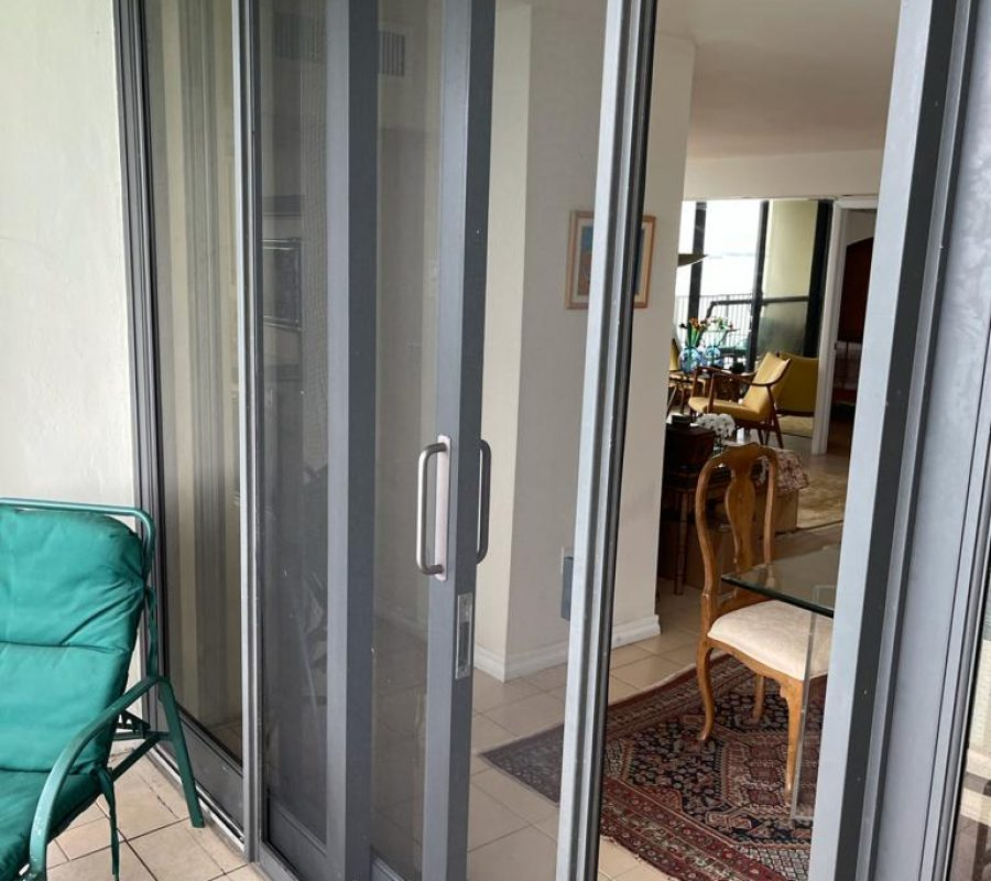 sliding glass door repair patio